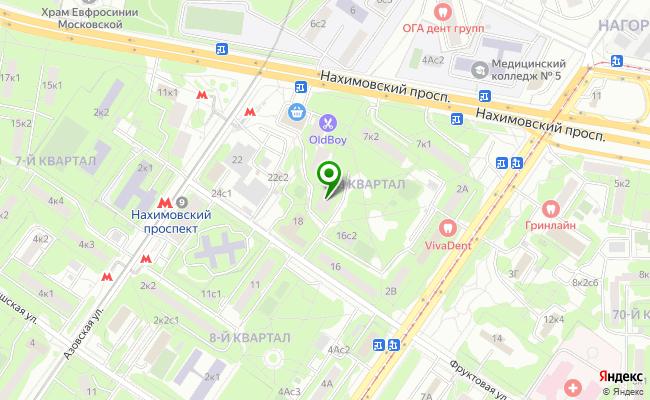 Сбербанк Москва ул. Фруктовая 20 карта