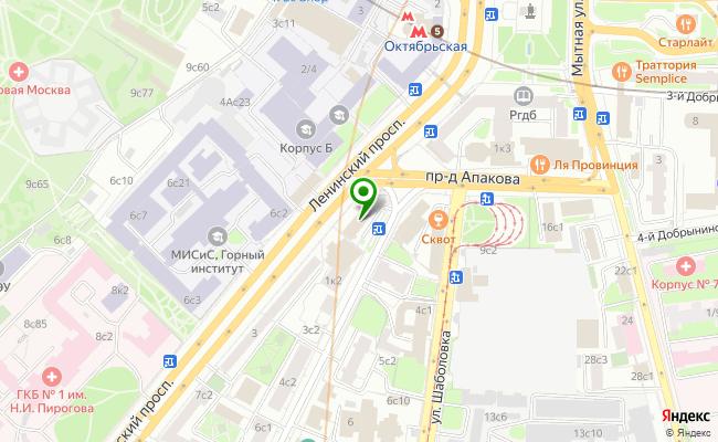 Сбербанк Москва проспект Ленинский 94-А, стр.1 карта