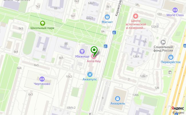 Сбербанк Москва ул. Кировоградская 8, корп.3 карта