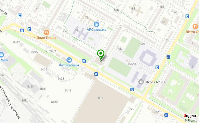 Сбербанк Москва аллея Березовая 9, стр.2 карта