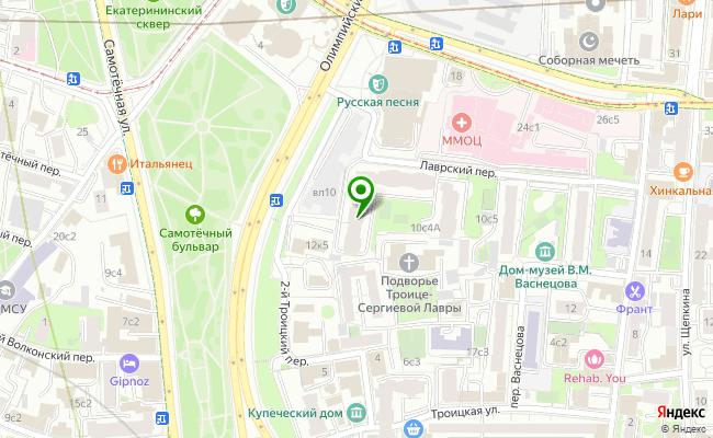 Сбербанк Москва проспект Олимпийский 10, корп.1-2 карта