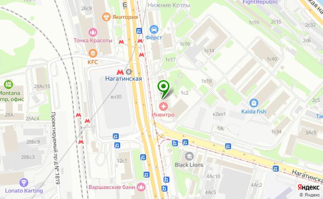 Сбербанк Москва ул. Нагатинская 1 карта