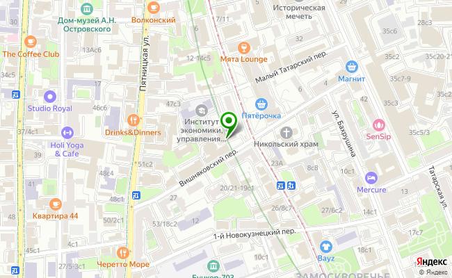 Сбербанк Москва ул. Новокузнецкая 18/10, стр.3 карта