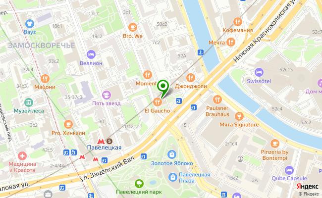 Сбербанк Москва ул. Зацепский вал 6, корп.13, стр.1 карта