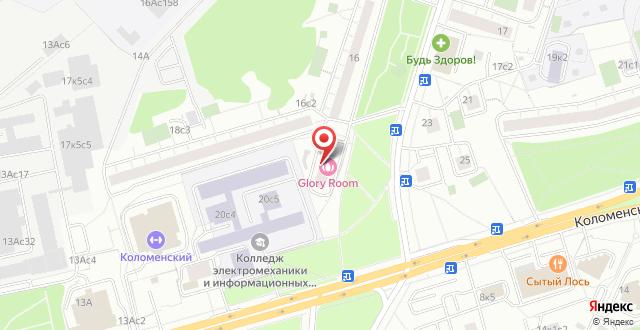 Апарт-отель Just-M на карте