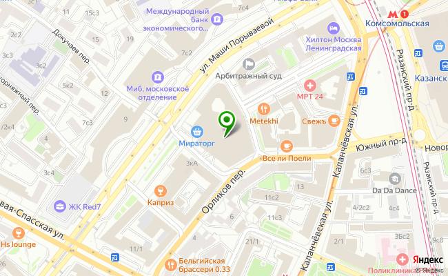 Сбербанк Москва ул. Маши Порываевой 34 карта