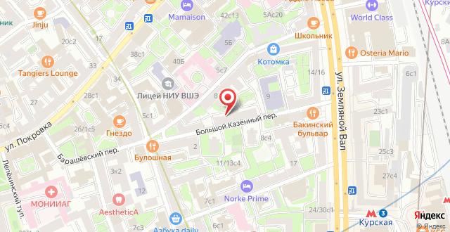 Гостевой дом Большой Казенный на карте