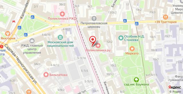 Хостел Сердце столицы на карте