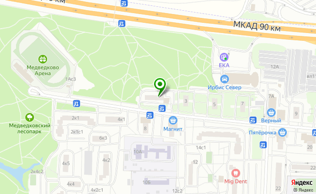 Сбербанк Москва проезд Студеный 1, корп.1 карта