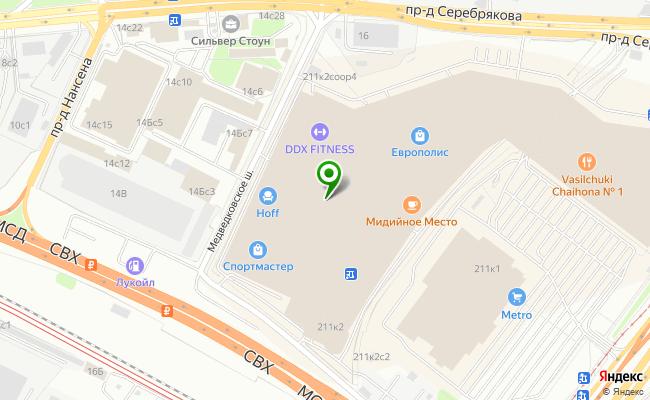 Сбербанк Москва проспект Мира 211, корп.2 карта