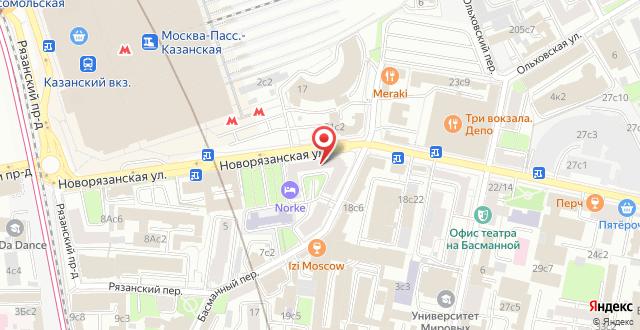 АСТ Отель на карте