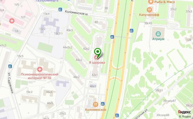 Сбербанк Москва проспект Андропова 42, корп.1 карта