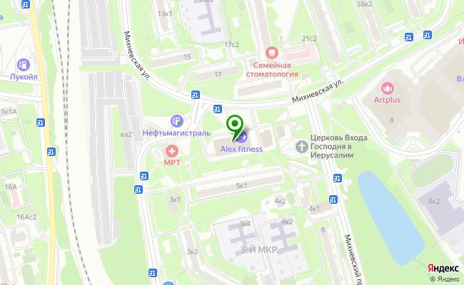 Сбербанк Москва ул. Михневская 4 карта