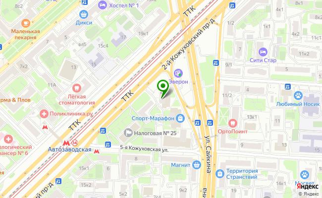 Сбербанк Москва ул. Сайкина 2 карта
