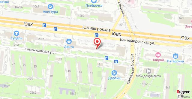 Мини-отель МАК на карте
