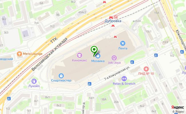 Сбербанк Москва ул. 7-ая Кожуховская 9 карта