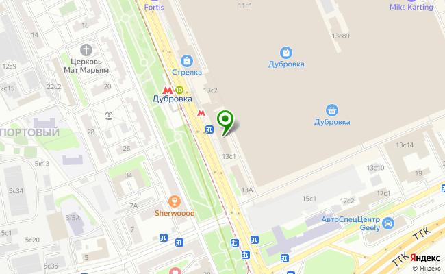 Сбербанк Москва ул. Шарикоподшипниковская 13, стр.1 карта