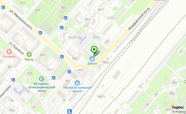 Сбербанк Москва проезд Анадырский 21 карта
