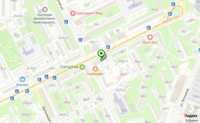 Сбербанк Москва ул. Судостроительная 32 карта