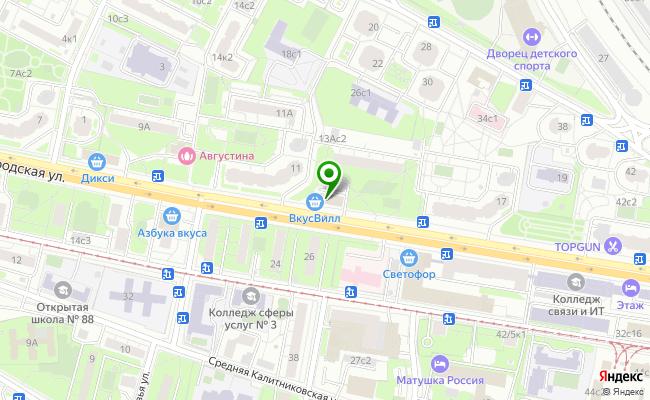 Сбербанк Москва ул. Нижегородская 13Б карта