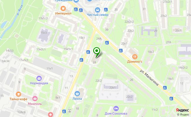 Сбербанк Москва ул. Тайнинская 24 карта