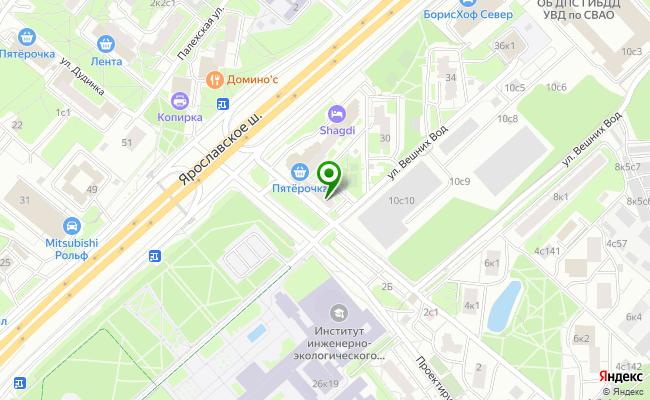 Сбербанк Москва шоссе Ярославское 28 карта