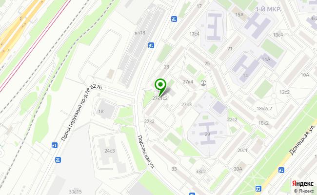 Сбербанк Москва ул. Подольская 27, корп.1, стр.2 карта