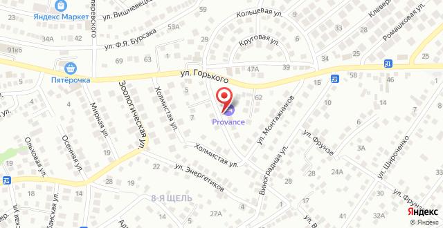 Гостевой дом Цемдолина на карте