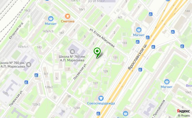 Сбербанк Москва ул. Лосевская 22 карта