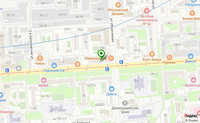 Сбербанк Москва ул. Щербаковская 35 карта