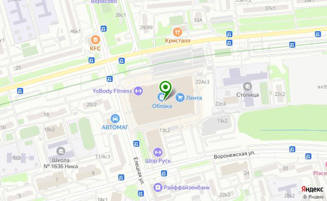 Сбербанк Москва бульвар Ореховый 22А карта