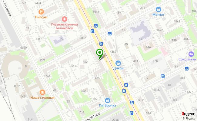 Сбербанк Москва проспект Буденного 30/8 карта