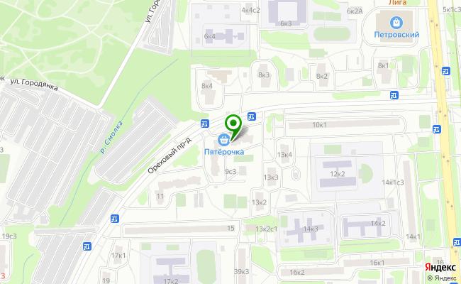 Сбербанк Москва проезд Ореховый 9 карта