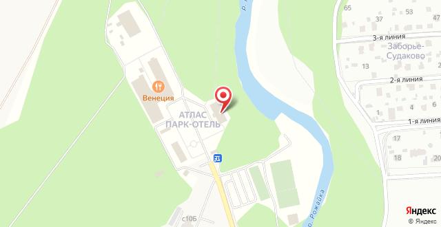 Гостиница Атлас Парк Отель на карте