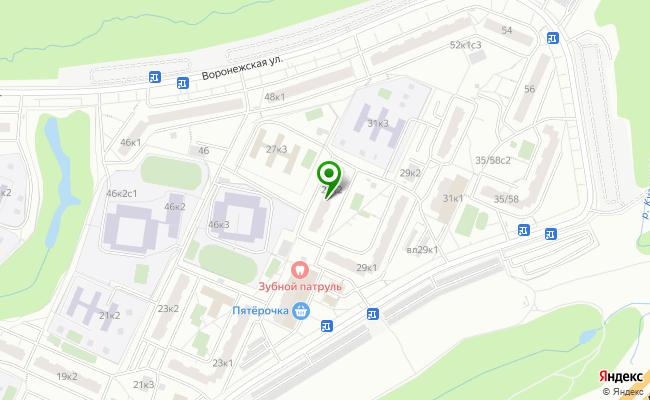 Сбербанк Москва проезд Гурьевский 27, корп.2 карта