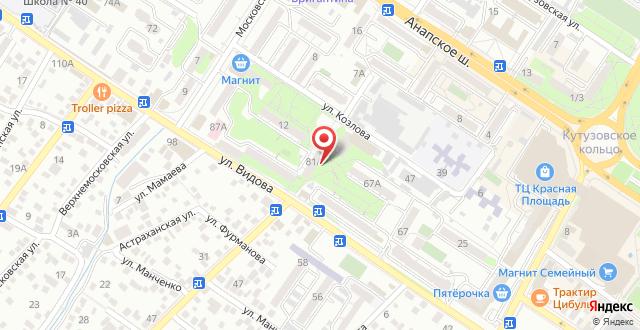 Гостевой дом DUSOL на карте
