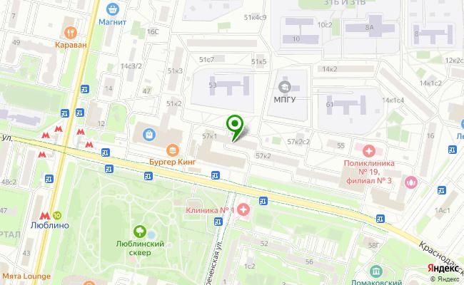 Сбербанк Москва ул. Краснодарская 57, корп.1 карта