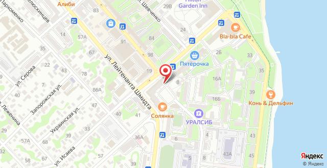 Апартаменты На улице Исаева на карте