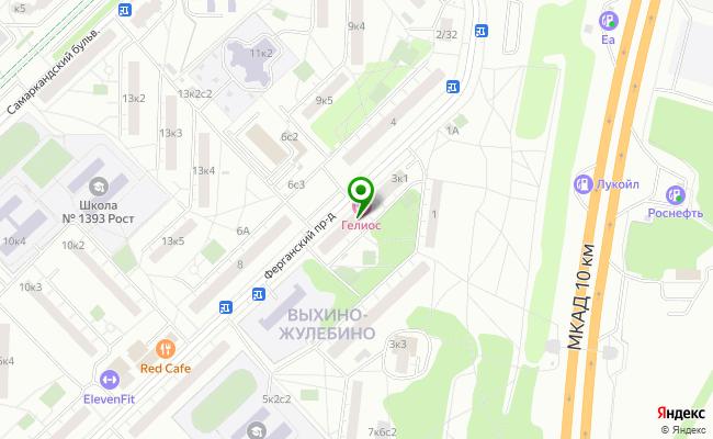 Сбербанк Москва проезд Ферганский 3, корп.1 карта
