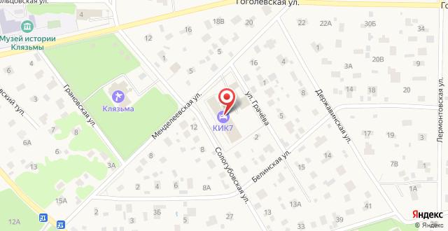 Отель KIK7 на карте