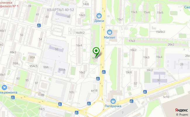 Сбербанк Москва ул. Молостовых 16, корп.1 карта
