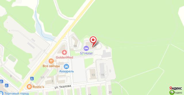 Гостиница Рамада Москва Домодедово на карте