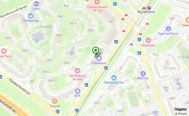 Сбербанк Москва ул. Генерала Кузнецова 28, корп.1 карта