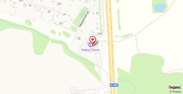 Гостиница Nabat Palace на карте