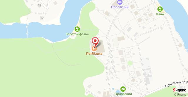 Парк-Отель Орловский на карте