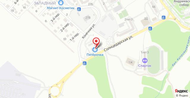 Гостиница Линкор на карте