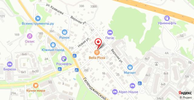 Гостевой дом Аква на карте