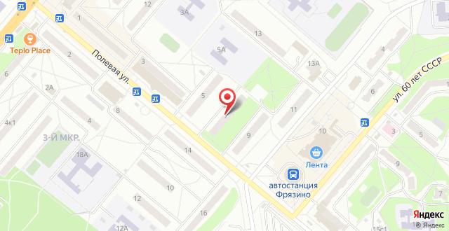 Апартаменты На Полевой, 7 на карте