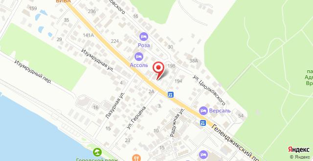 Гостевой дом Айсберг на карте