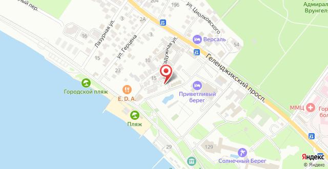 Отель Фрегат на карте